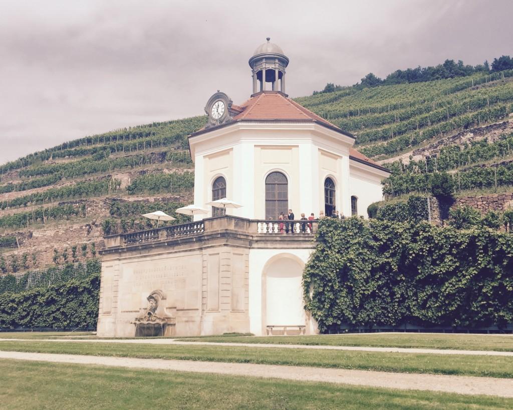 freie Trauung in deutsch und englisch auf Schloss Wackerbarth