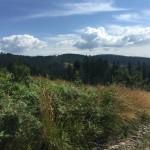 Landschaft in den polnischen Beskiden, freie Trauung Polen