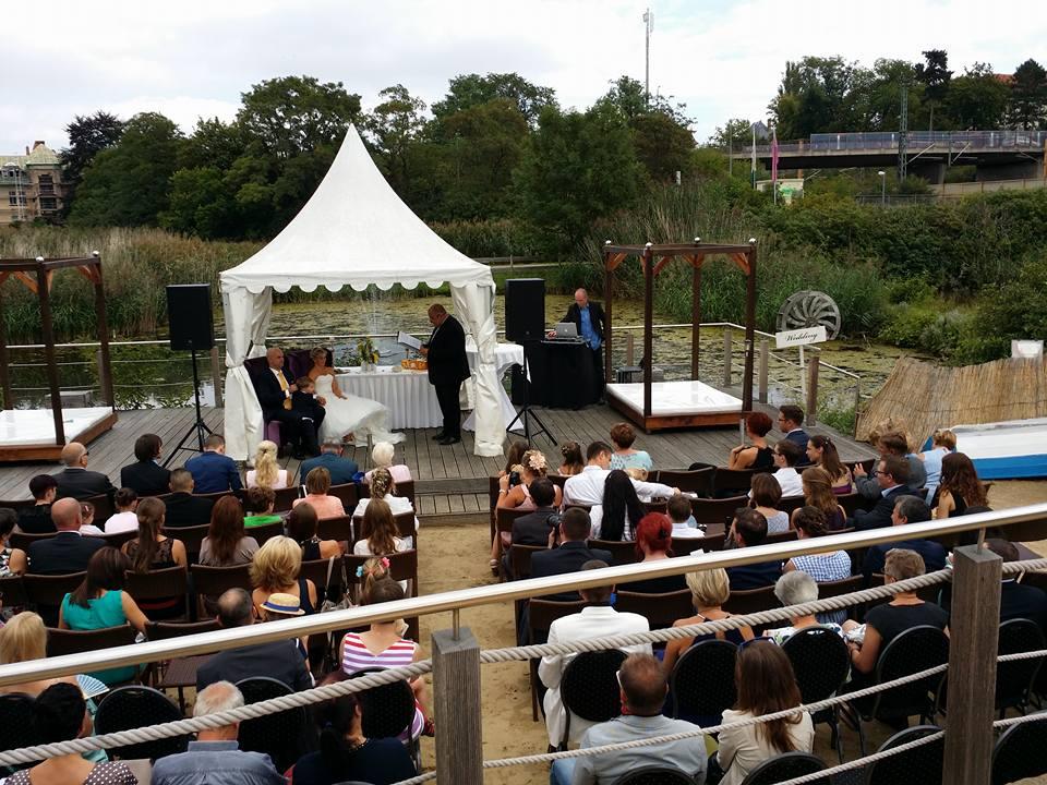 Freie Trauung im Kressepark Erfurt