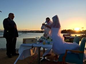 Hochzeit in Ägypten, Trauredner Carsten Riedel, Strandhochzeit am Roten Meer