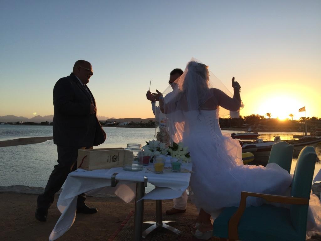 Hochzeit in Ägypten – Freie Trauung am Strand
