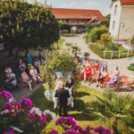 Freie Trauung im Sattelhof Wettin, Freier Trauredner Carsten Riedel, Freie Trauredner Ines Wirth, Fotos: Adrian Liebau
