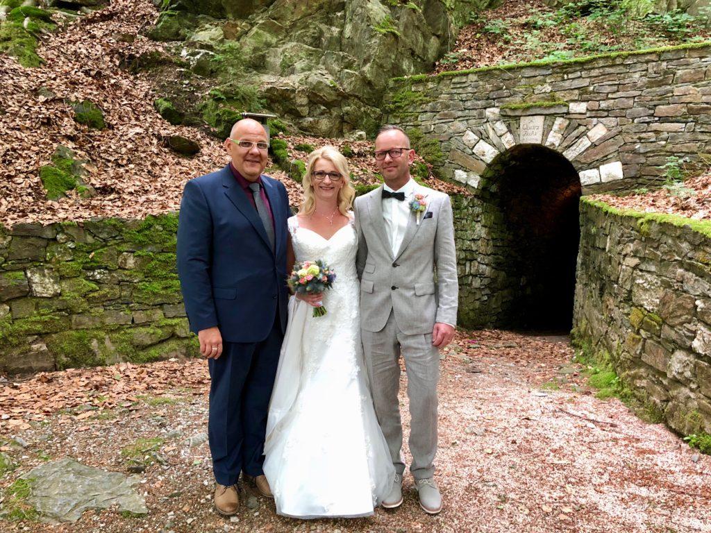 Freie Trauung in der Höhle – Trauredner Carsten Riedel in Zschorlau