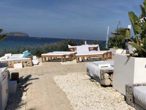 Freie Trauung auf Ibiza, Trauredner Carsten Riedel, Location und Trautisch