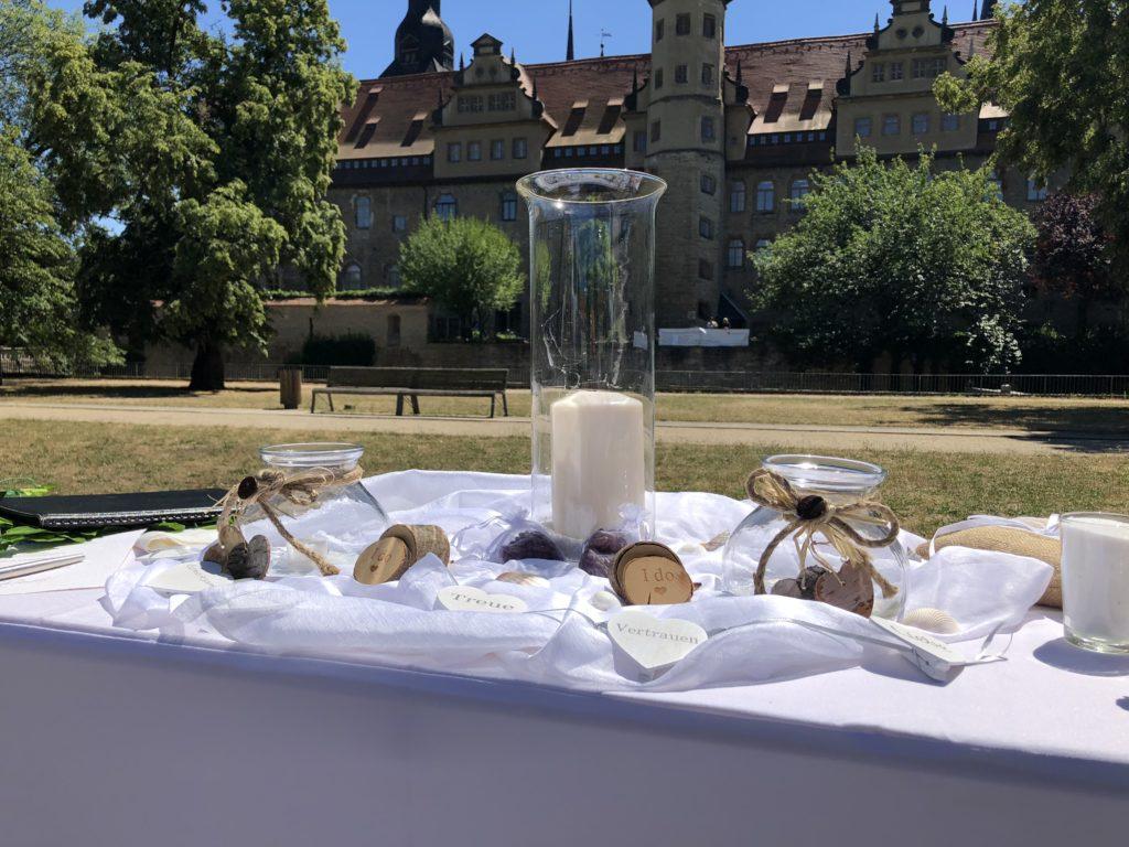 Freie Trauung am Merseburger Schloss