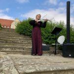 Secret Place Schloss Thallwitz, Katrin an der Geige