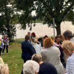 zweisprachige Trauung in Brandenburg, Trauredner Ines Wirth, Redner Carsten Riedel