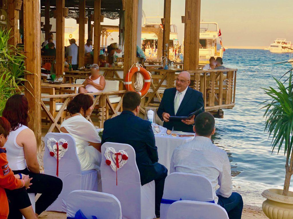Strandhochzeit in Ägypten – freie Trauung in Hurghada