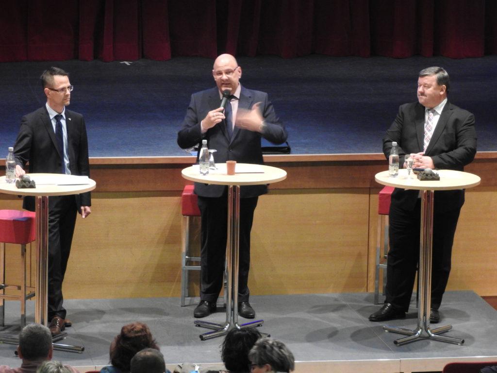 Duell um den Chefsessel – OB-Wahl in Werdau