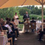 Trauung in deutsch und französisch - Hochzeitsredner Theresa und Carsten