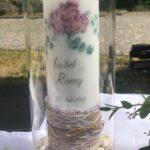 Hochzeitskerze hergestellt von Ines WirthHochzeitskerze hergestellt von Ines Wirth