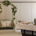 Rosenbogen, freie Trauungen mit Carsten Riedel im Hotel Schwanefeld Meerane