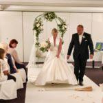 Brautpaar nach der Trauung, Meerane, Hochzeitsredner Carsten Riedel