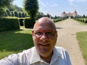 Trautisch Freie Trauung auf Schloss Moritzburg - Chrissi und Lutz, Carsten Riedel, Selfie