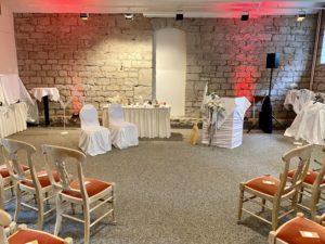 Hotel am Schloss Apolda, Bankettraum für freie Trauung
