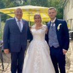 freie Trauung in Apolda, Carsten Riedel mit Brautpaar