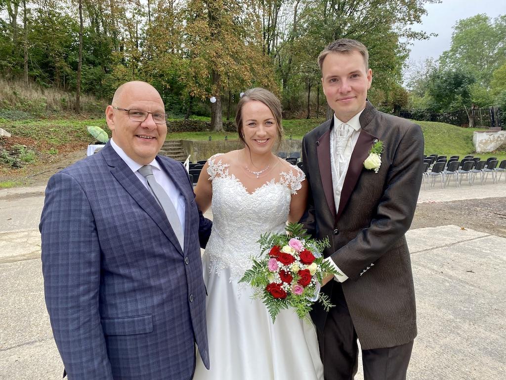 Freie Trauung in Mücheln – Melanie und Markus