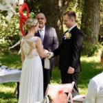 Handfasting Carsten Riedel mit Brautpaar