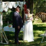 Carsten Riedel mit Braut Sophie